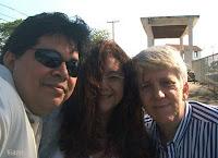 Leandro, Nina e Helio