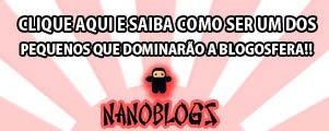 Selo Nano Blog, blog pequeno, com menos de 1000 acessos diários