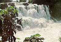 Salto das 7 Quedas, maravilha da natureza destruída para a construção da usina hidrelétrica de Itaipu