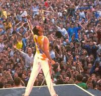 Freddie Mercury no concerto Live 8