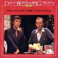 Little Drummer Boy e Peace On Earth, cantadas por Bing Crosby e David Bowie