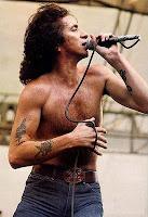 A voz de Bon Scott marcou a história do rock