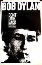 Cartaz do documentário Don't Look Back, de D. A. Pennebaker