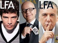 Alfa traz Daniel Oliveira, Marcelo Tás e Galvão Bueno na capa