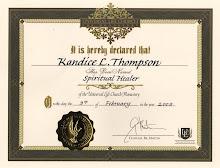 Spiritual Healer Recognition