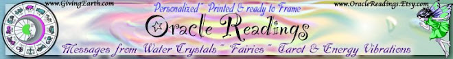 Oracle Readings ~ Peronalized, Printed & Ready to Frame