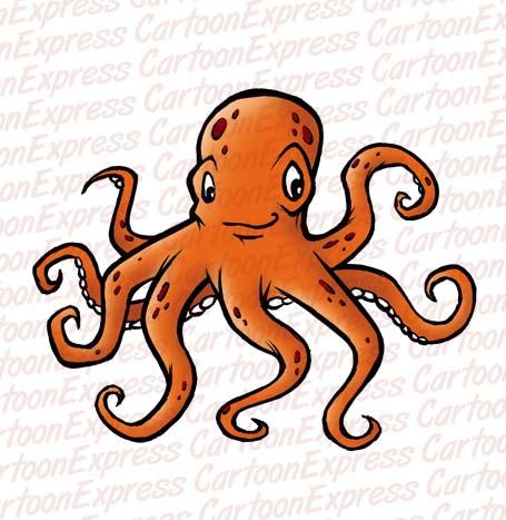 ... the octopus yeah that s right paul the octopus who s currently nestled Octopus Cartoon Images