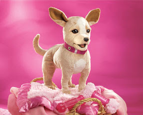chihuahua puppies dogs puppet
