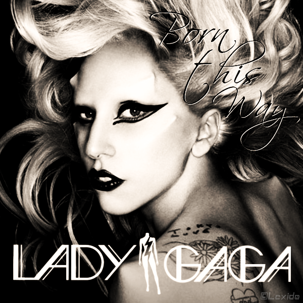 lady gaga born this way cover wallpaper. lady gaga born this way cover.