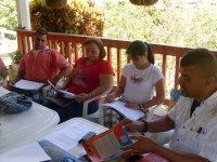 Último Taller;Rubén, Gladys, Valentina y Edgar