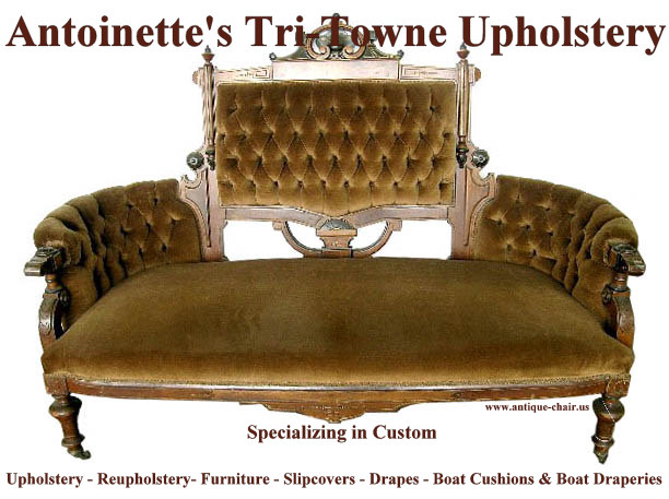 Antoinetteu0027s Tri Towne Upholstery