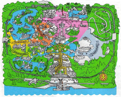 walt disney world map 2009. walt disney world map 2009