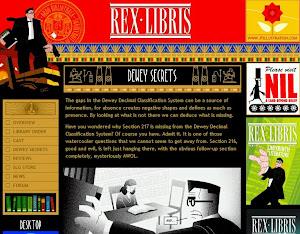 REX LIBRIS. Comic sobre bibliotecólogos y bibliotecas