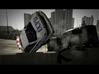 Car crash in Grand Theft Auto IV