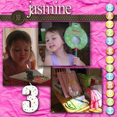Jasmine's 3rd Birthday