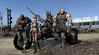image presentant les 4 classes de borderlands