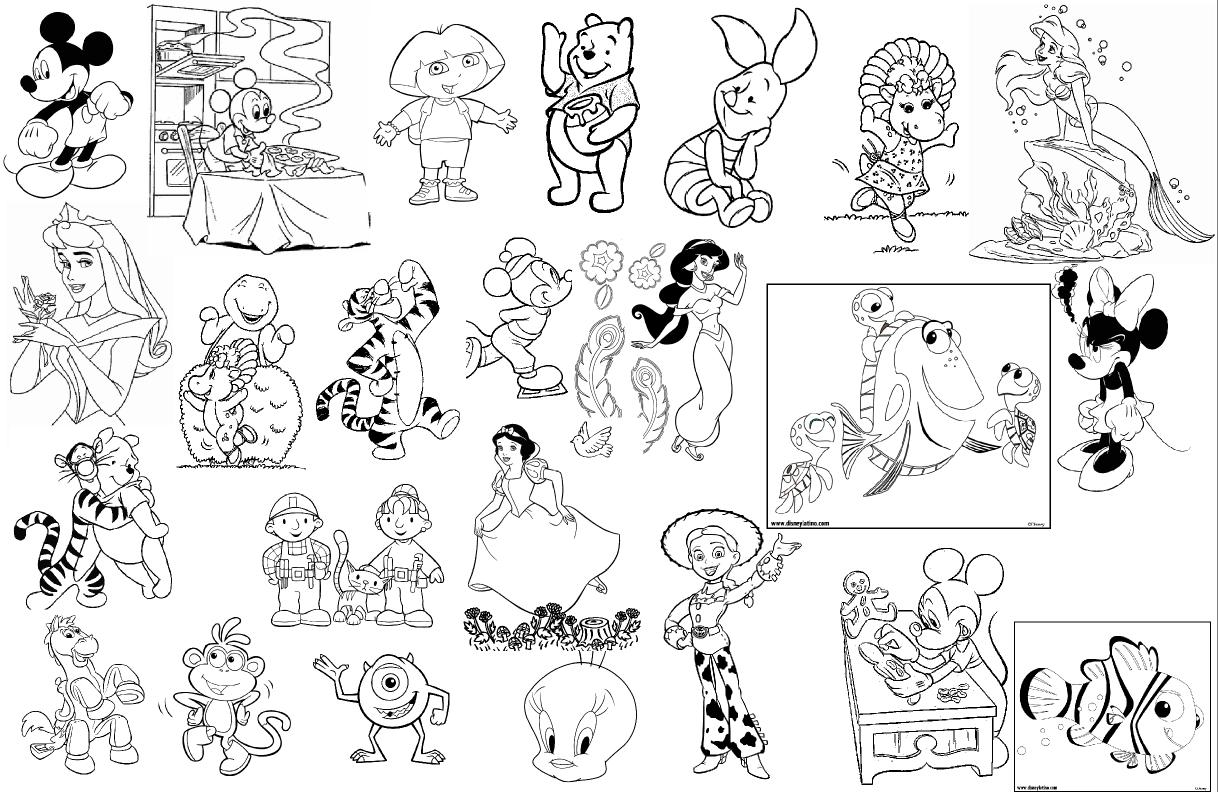 Las Manualidades De Panchita 2000 Dibujos Infantiles Para Colorear - Dibujos-para-manualidades