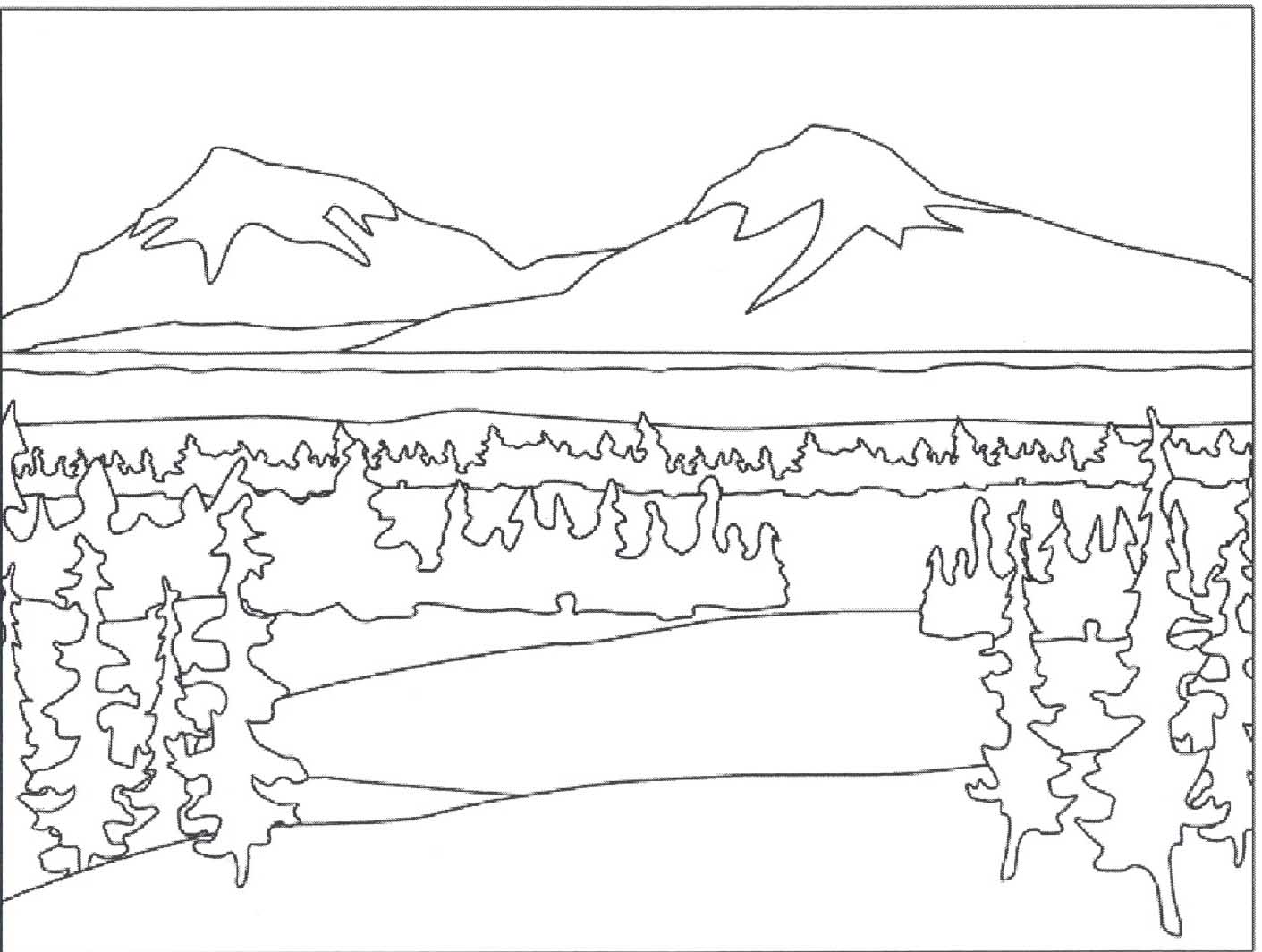 Print Winter Scene Moreover Rounding Off Numbers Worksheets Grade 4 ...