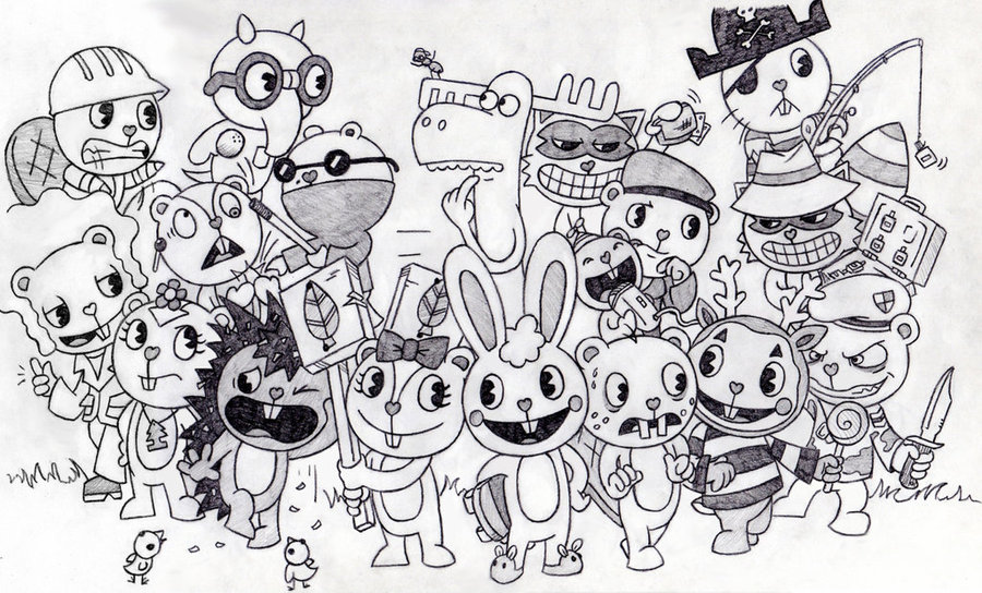related pictures famous happy tree friends lifty and shifty