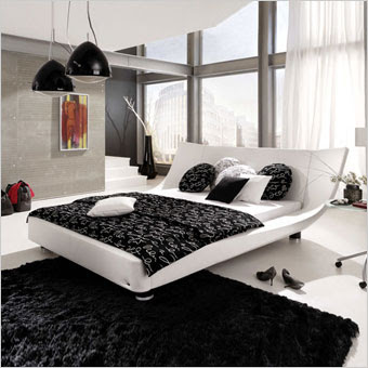 Sexy bedroom ideas - Black and white bedroom designs for teenage girls ...
