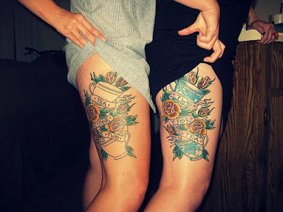 matching tattoo ideas. for a matching tattoo.