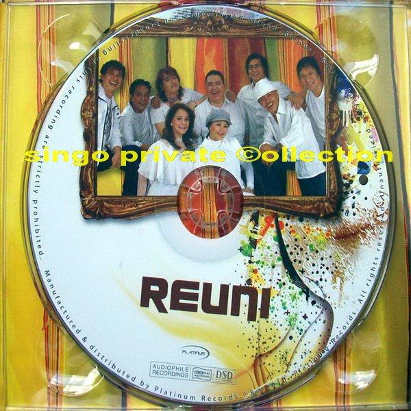 """CD Album Perdana """"REUNI"""" Dapat di Beli di Disc Tara, 2010"""