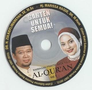 Pilkada Banten 2006, Dr. Zulkieflimansyah & Marissa Grace Haque Fawzi