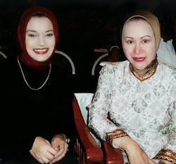Marissa Haque Fawzi & Ratu Atut Chosiyah