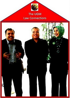 UGM Law Connections: Parialis Akbar, Denny JA, Marissa Haque Fawzi