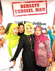 Dukungan Penuh Wahidin Halim Walikota Tangerang untuk Achmad Suwandhi dan Marissa Haque