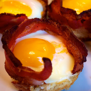 bacon+egg+and+toast+cups Bacon Egg and Toast Cups