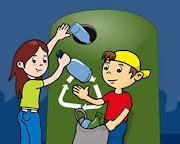 Color amarillo reciclaje (plásticos y latas): En éste se deben depositar . colores
