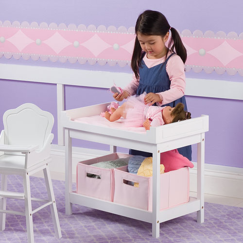 doll high chair attaches to table 1