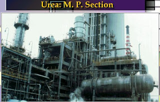Urea production equipment of medium pressure section