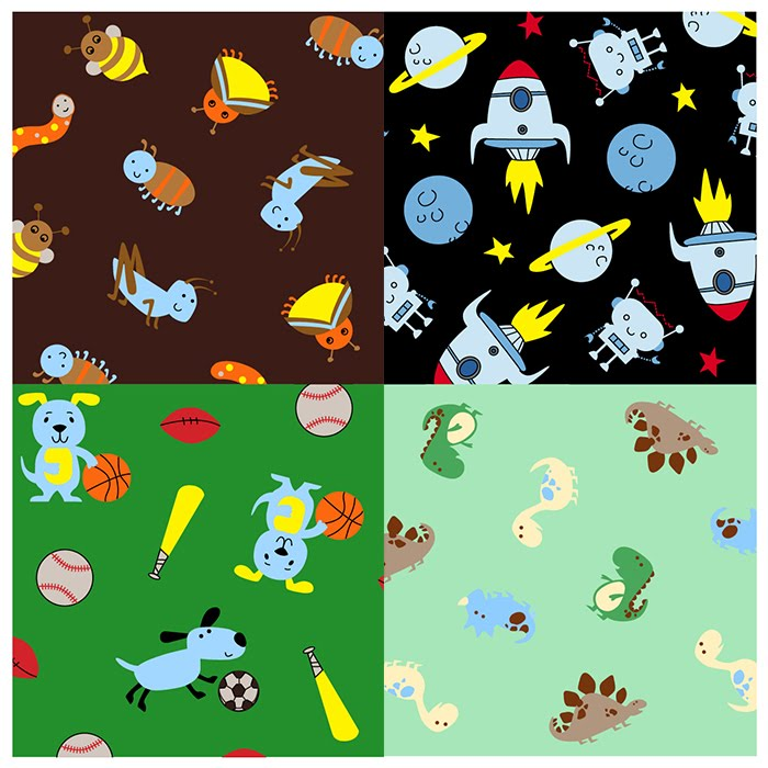 Creative Works Of Kelly F Carters Boys Patterns Fascinating Boy Patterns