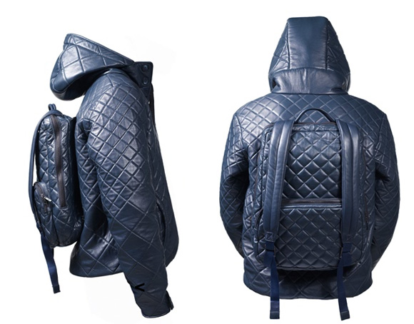"""A """"jackpack"""" – jacket-backpack combination  multi-tasking is great but I  believe in jackets OR backpacks. Pick one and stick with it. b3d49fab4e"""