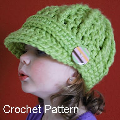 How to Crochet a Newsboy Hat | eHow.com