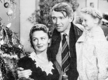 "Ms. Reed with Jimmy Stewart in the iconic film, ""It's A Wonderful Life"""
