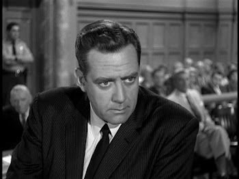 "The one and only Raymond Burr as ""Perry Mason"""