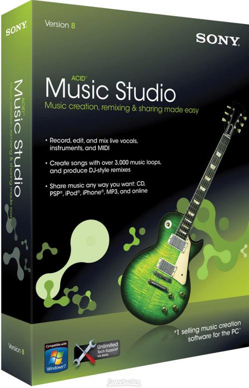 Sony Acid Music Studio 7 Full Authentication Key