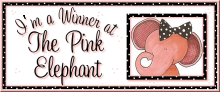 The Pink Elephant Top Card Award