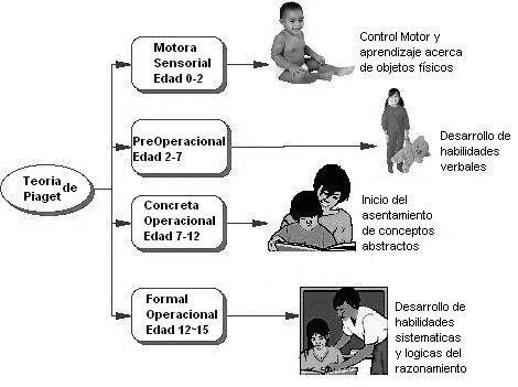 ... de evolução mental de uma criança cada estágio é um período onde