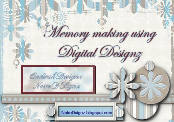 Memory making using Digital Designz