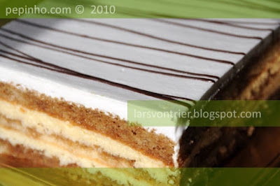 Tarta de coco y caf