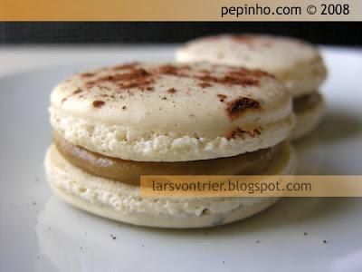 Macarons de café – macarons de aceite de oliva