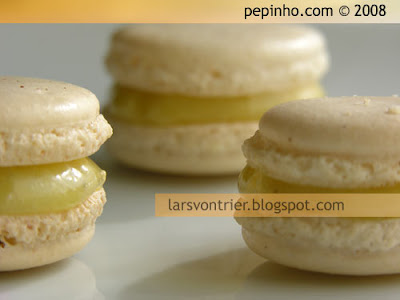 Macarons de aceite de oliva