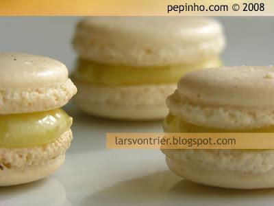 Macarons de aceite de oliva