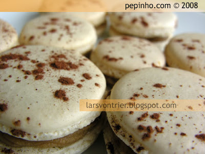 Macarons de caf &#8211; macarons de aceite de oliva