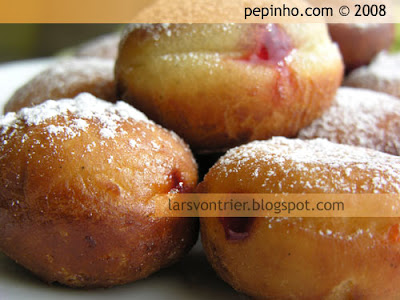 Buñuelos de frambuesa (Vienesas de frambuesa)