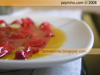 Pimientos del piquillo asados al ajo